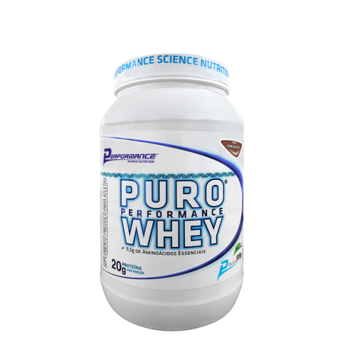 Puro Performance Whey – Performance Nutrition (909g) – Baunilha