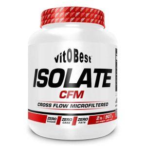 ISOLATE CFM 100% (907g) Sabores – VITOBEST